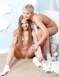 Sumptuous girlfriends